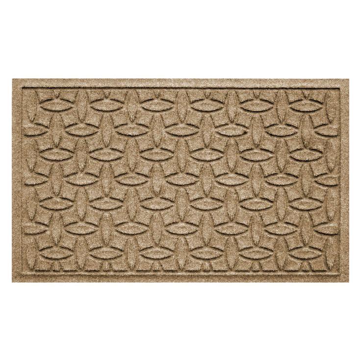 Have to have it. Bungalow Flooring Water Guard Elipse Indoor / Outdoor Mat - $34.99 @hayneedle