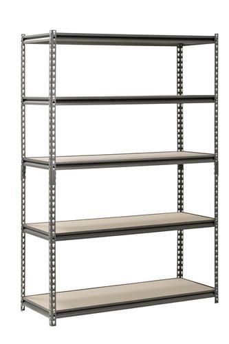muscle rack 5 shelf metal shelving unit kitchen redo after all rh pinterest ca