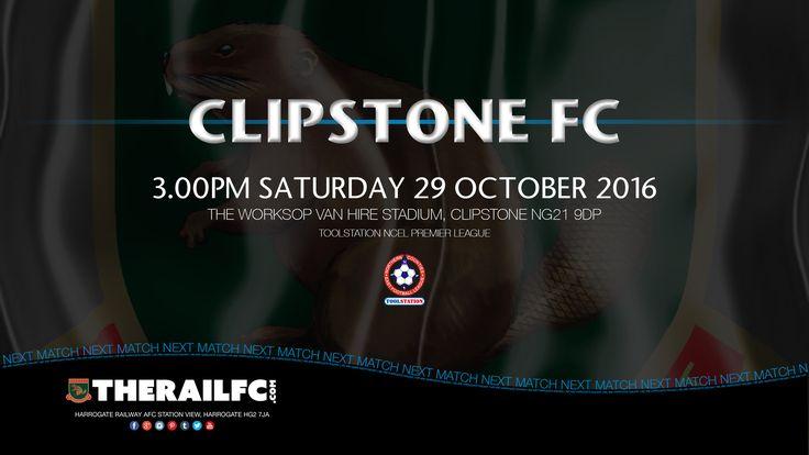 Next Match: Clipstone FC v Harrogate Railway    @therailfc @ClipstoneFC1 @Howell_rm @Edwhite2507 #NCEL