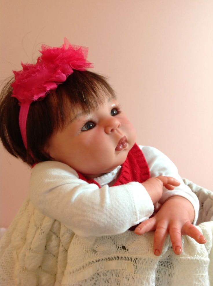 Cute Reborn Baby Doll Soft Silicone 18 Inch Handmade Baby: 540 Best Images About Lovely Dolls On Pinterest