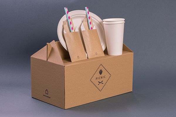 Picnic box on Behance