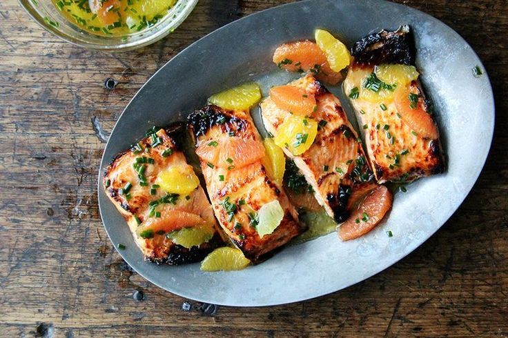 Broiled Lemon-Honey Arctic Char with Citrus Sauce recipe on Food52