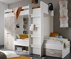 best 25 hochbett mit schrank ideas on pinterest bett in einem kasten kastenraum ideen and. Black Bedroom Furniture Sets. Home Design Ideas