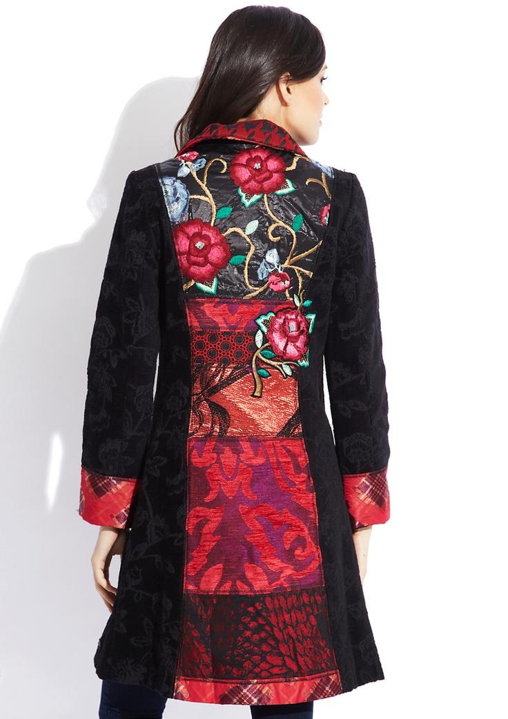 Grosella Coat, back