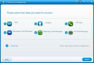 GT Recovery, un logiciel gratuit de récupération de données supprimées