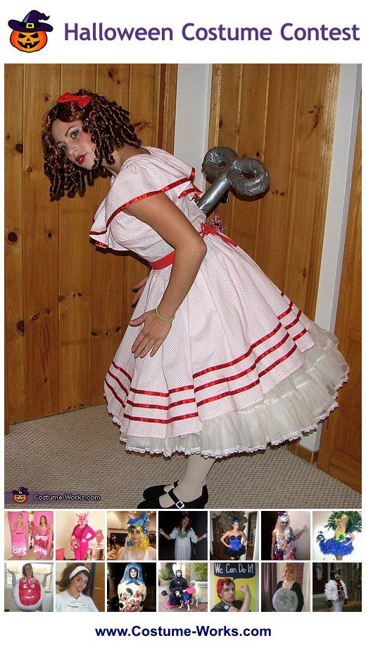 Homemade Costumes for Women - this website has tons of DIY costume ideas!