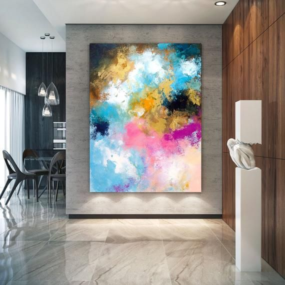 Extra Large Wall Art Original Bright Abstract