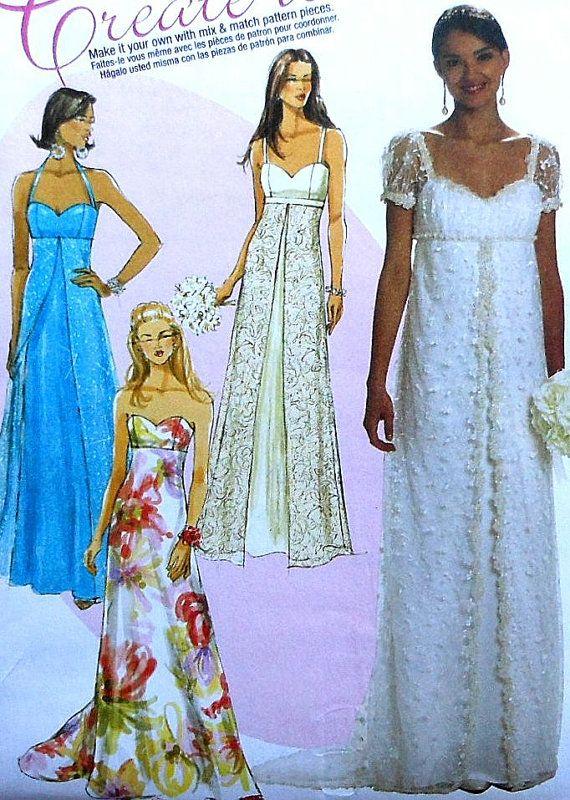 14 best empire waist dresses images on pinterest sewing for Empire waist wedding dress patterns