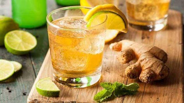 Für ewig schlank: Mate-Tee-Limetten-Drink - gegen Heißhunger !