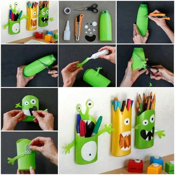 * Decoração e Invenção *: Reciclando e organizando