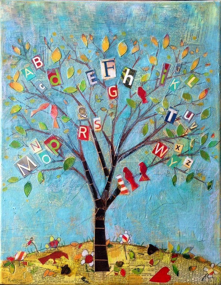 arbre de l'alphabet