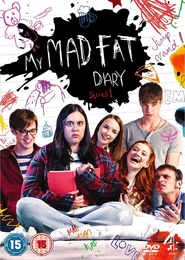 My Mad Fat Diary. Oh my god. I adore this show!  I relate so much to Rae. She and I are basically the same person.