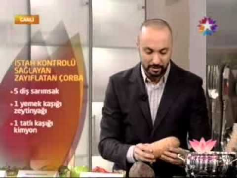 Zayıflatan Çorba Zayıflama Çorbası-İştahı Kesen Tok Tutan Çorba Tarifi