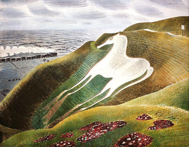 Eric Ravilious - The Westbury Horse