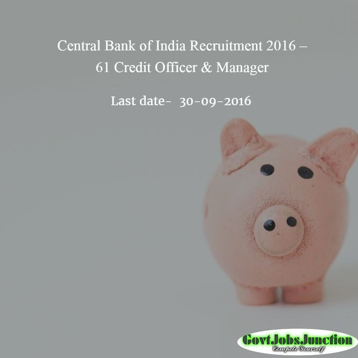 23 best Government jobs India images on Pinterest Financial - credit officer sample resume