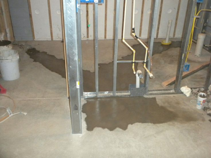 plumbing installation for basement bathroom and bar homestead