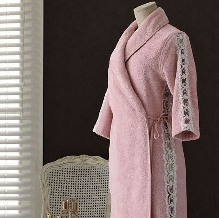 100% COTTON LUXURY BATHROBE