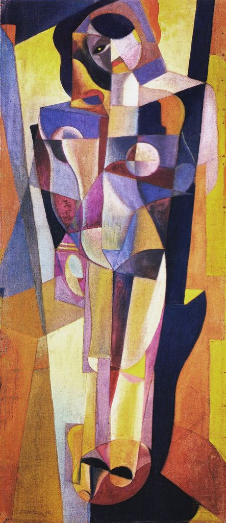 Enrico Prampolini (1894-1956, Rome) was an Italian Futurist painter, sculptor and scenographer. He assisted in the design of the Exhibition of the Fascist Revolution and was active in Aeropainting.