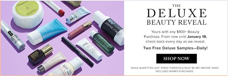 Hudsons Bay Canada Deluxe Beauty Reveal Promotions: FREE Deluxe Samples   $10 Off Promo Code http://www.lavahotdeals.com/ca/cheap/hudsons-bay-canada-deluxe-beauty-reveal-promotions-free/164707?utm_source=pinterest&utm_medium=rss&utm_campaign=at_lavahotdeals