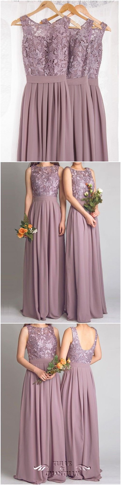 In mauve pink perfect bridesmaid dresses