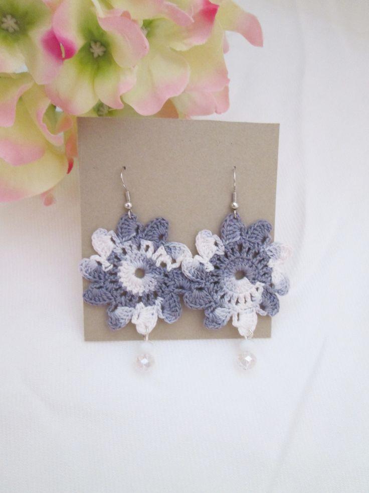 Orecchini Marge collection realizzati interamente a mano #orecchini #uncinetto #crochet #fattoamano #handmade #shop #creazionifilo #bijoux #jewellery