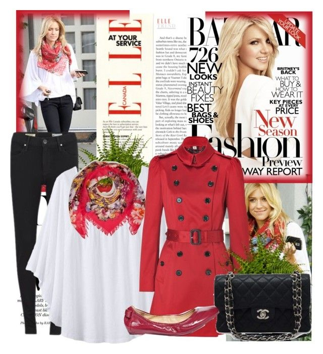 White Shirt by sophia561 on Polyvore featuring polyvore, Mode, style, prAna, Burberry, AG Adriano Goldschmied, Cole Haan, Etro, Kristin Cavallari and Carolina Herrera