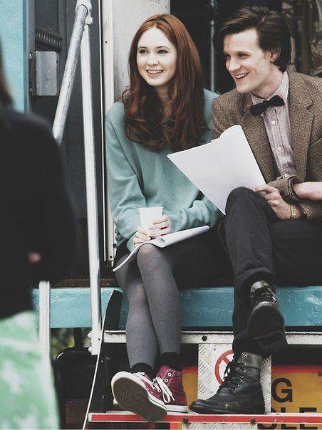 вечно любимая мной Амелия и несравненный Одиннадцатый доктор....