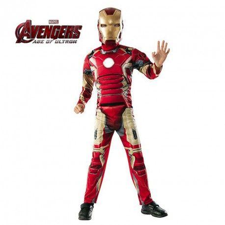 Disfraz de IronMan Niño #Marvel