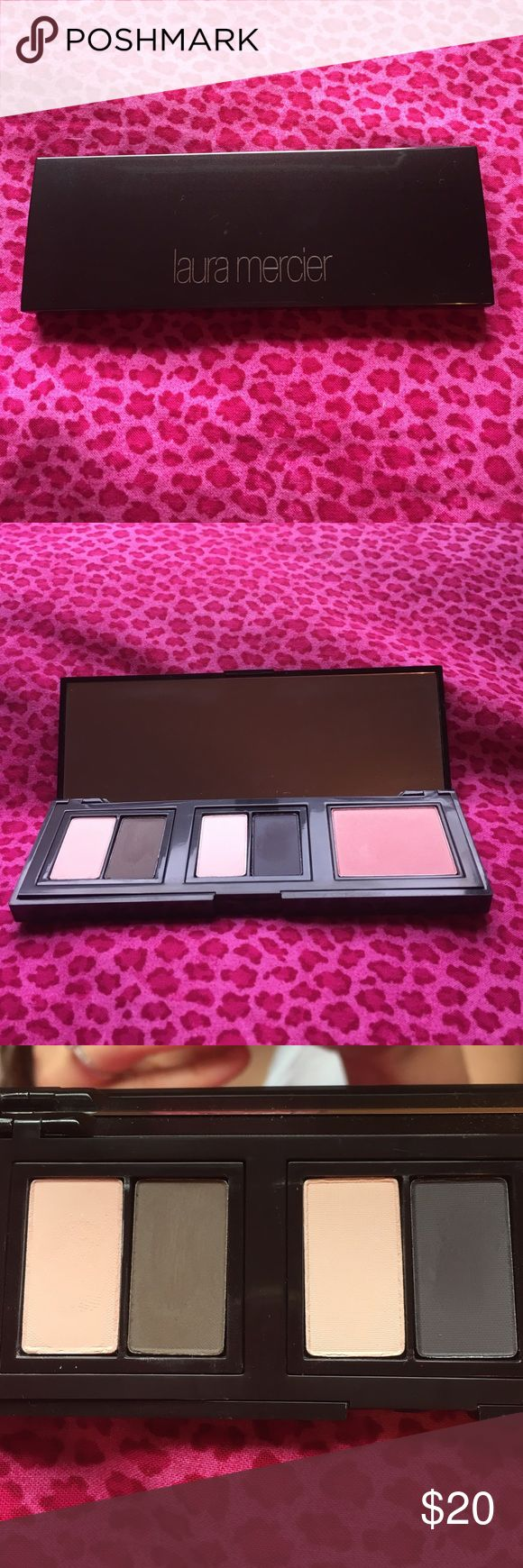 Laura Mercier Eyeshadow and Blush Pallete Only used for sampling. Feel free to make an offer. :) laura Mercier Makeup Eyeshadow