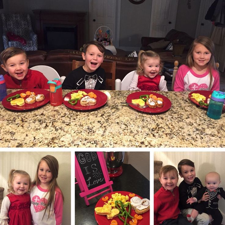 Hope you are all having a wonderful Valentine's Day! This morning, Anna Duggar made her four oldest kiddos a heart-themed breakfast. These ...