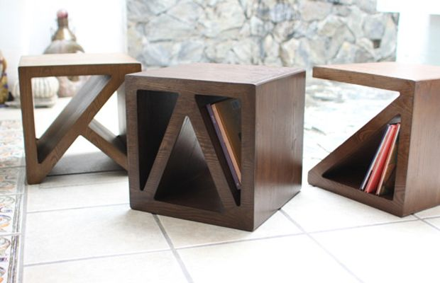 Origami furniture by Benito Chavez h