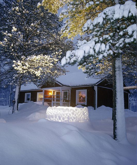 Finnish country house by Visit Finland, via Flickr