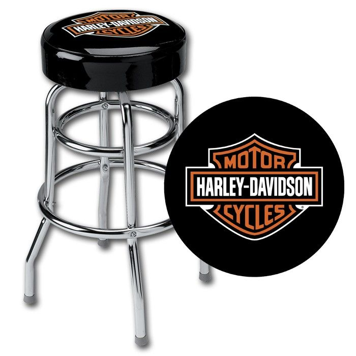 Harley Davidson Motorcycle Bar Shield Logo Neon Table Or: 1000+ Images About Harley-Davidson Bar Stools And