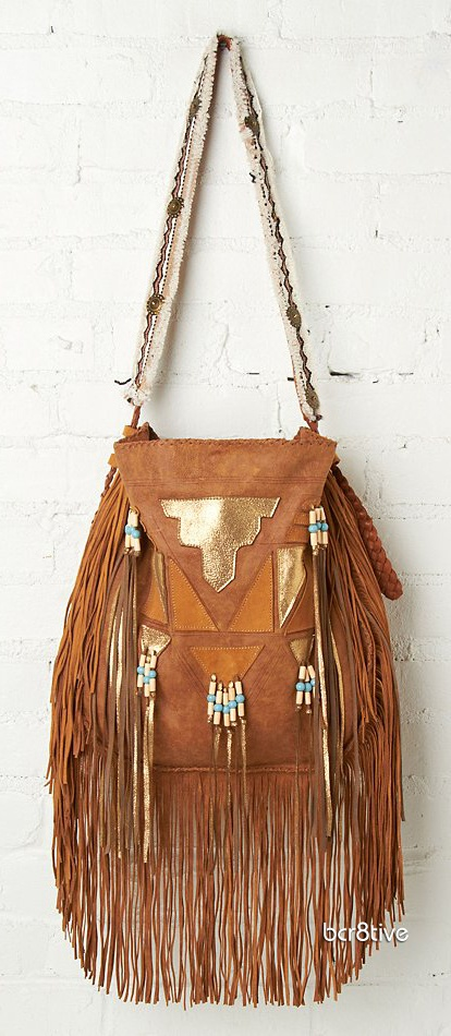Free People Metallic Tiki Tote ❤ Want. Want. Want. ツ