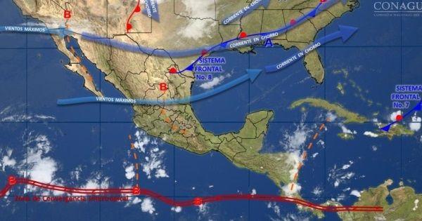 Temperaturas bajas y tormentas continuarán en el país esta noche - INFO7 Noticias