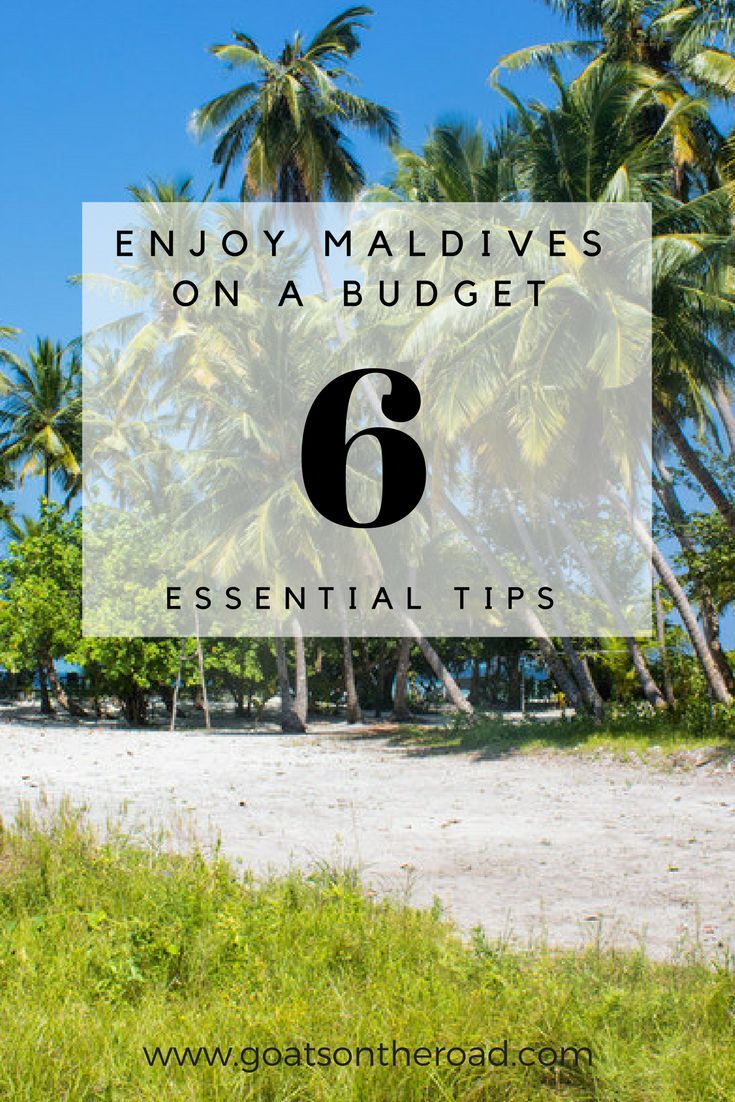 6 Essential Tips to Travel The Maldives On A Budget   Travel Guide Maldives   Budget Backpacking Maldives   Cost Of Travel Maldives   What To Do Maldives   Where To Stay Maldives   Travel Itinerary Maldives   How To Get To Maldives
