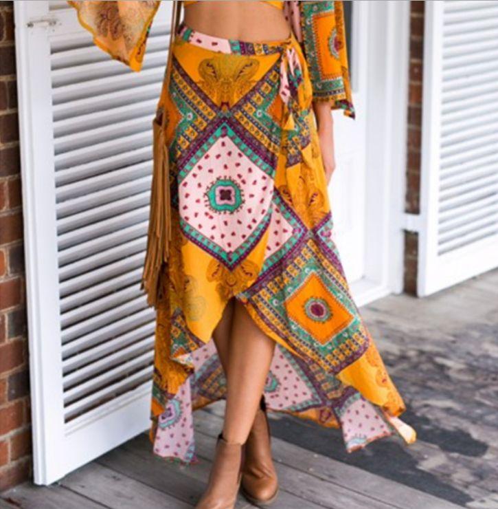 Fabric: Polyester Color: Photo Color Size: S, M, L, XL Size Chart: (CM) S: Waist 60, Length 99 M: Waist 64, Length 99 L: Waist 68, Length 100 XL: Waist 72, Leng