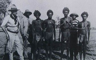 Picture from Expidition360.com            When the British invaded Australia in 1788, they thought they were superior to the Aboriginals, even though they were there first, much like what happened in America three centuries before. Because the British had superior technology, they took the Aborigines land quickly, and even resorted to slavery in some places.