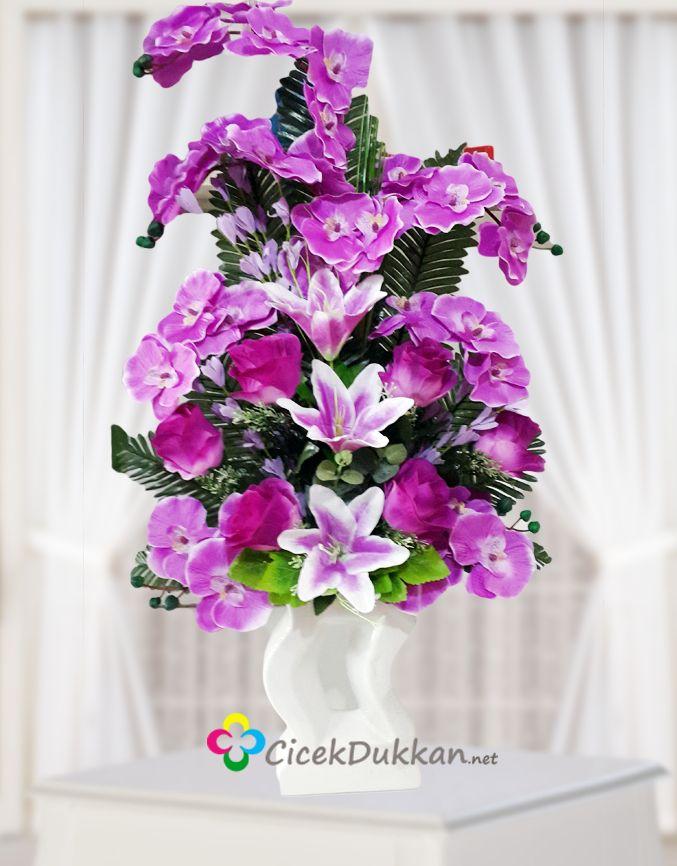 Kız isteme çiçekleri, kalıcı yapay çiçekler,çeşitli renk ve modellerde.