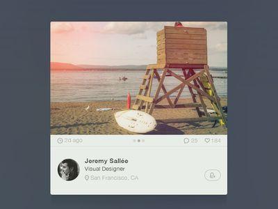 User photo widget