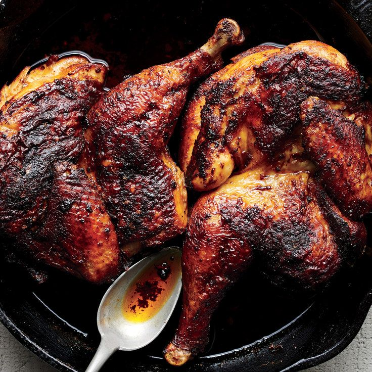 5 New Rubs to Change Up Your Roast Chicken Game:  1.) garlic + mayo  2.) paprika, dried oregano, olive oil  3.) za'atar, roasted garlic, olive oil  4.) harissa, s+p  5.) lemon zest + olive tapenade