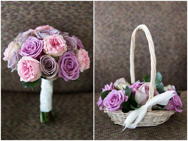 Vanilla Rose Flowers | Pink wedding flowers | Stylish White & Dusky Pink Wedding featuring Manolo Blahniks by Cristina Rossi Wedding | Nu Bride