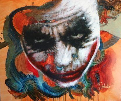 Online veilinghuis Catawiki: Peter Donkersloot - The Joker II - (Heath Ledger)