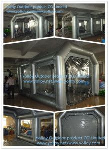 Outdoor Portable Inflatable Car Spray Booth