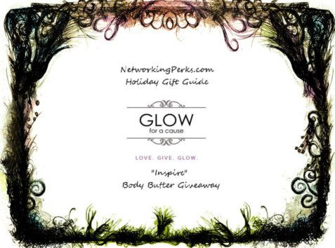 Enter #ad to WIN GLOW For a Cause Body Butter Giveaway http://bit.ly/2fQWd9k
