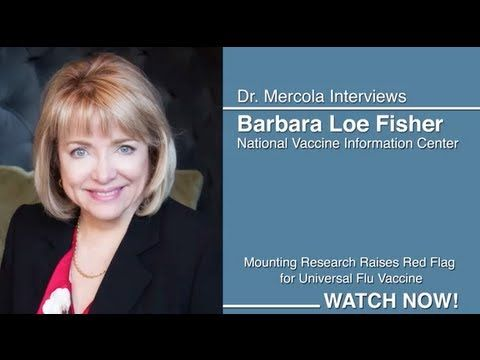 Dr. Mercola Interviews Barbara Loe Fisher About Flu Shots.  Studies show that the influenza vaccine is ineffective in the elderly and very young, and recent animal studies suggest that vaccinating against one strain of influenza may actually increase the risk of being infected with a related but different influenza strain