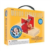 Science Discovery Kit ~ Electric Motor ~ Generator