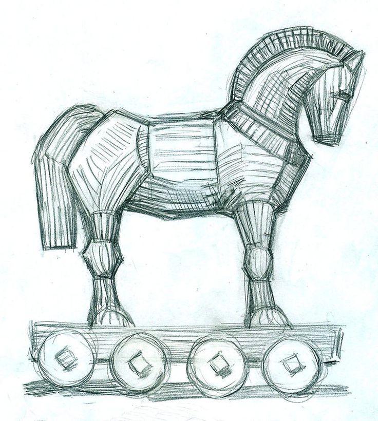 Trojan Horse - Pencil