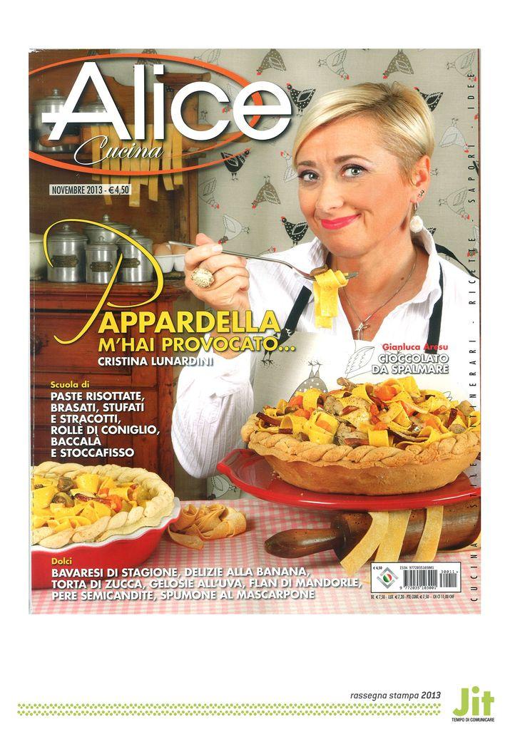 Melegatti su «Alice Cucina» novembre 2013