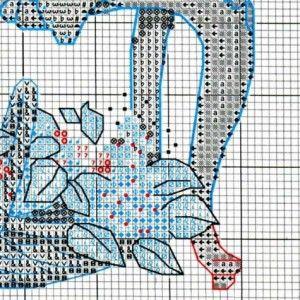 Схема вышивки Время чаепития (Dimensions) 4 из 4